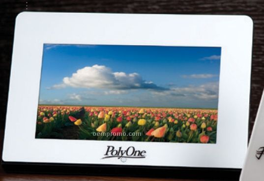 "7"" Bright Lcd Full Function Picture Frame"
