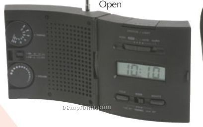 AM/ FM Wave Radio With Lighted Alarm Clock