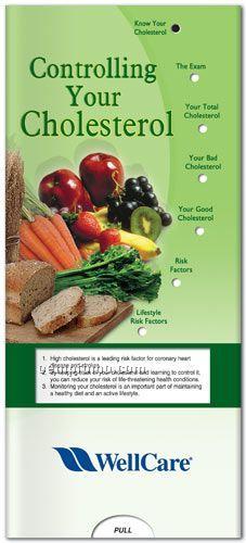 Spanish Pocket Slider Chart - Controlling Your Cholesterol