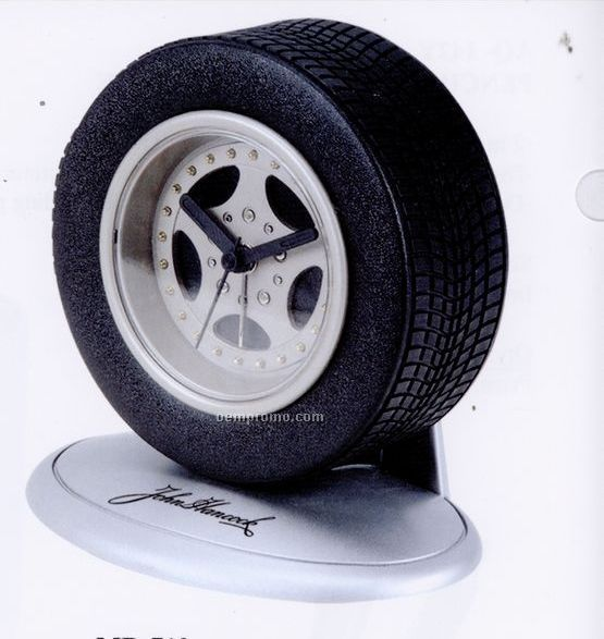 """Tire Alarm Clock (5""""X3 1/2""""X4 1/2"""")"""