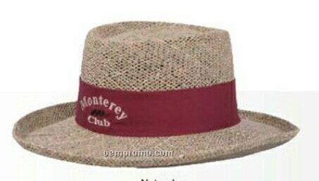 Gambler Style Straw Hat