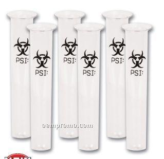 Neon Psi Test Tube Shot Glasses