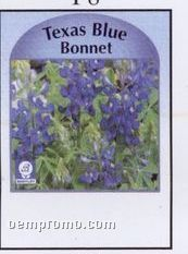 Texas Blue Bonnet Stock Designs Seed Packets - Imprinted