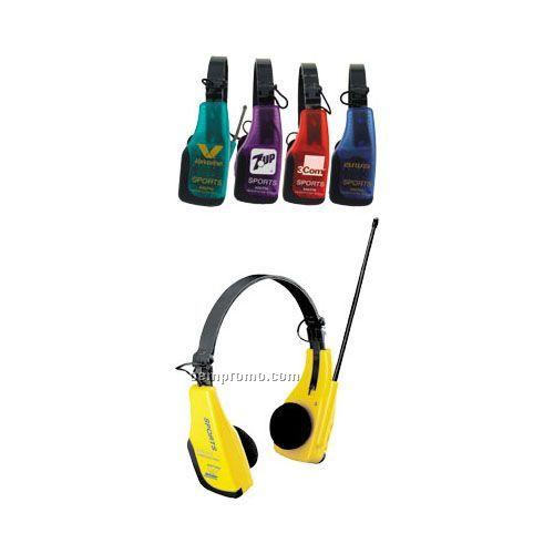 AM/ FM Headphone Radio