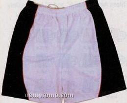 "Dazzle Cloth Adult Shorts W/ Side Panel & 9"" Inseam (Xxxl)"