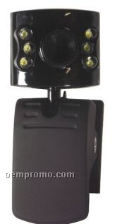 Voip Webcam W/ LED Night Vision