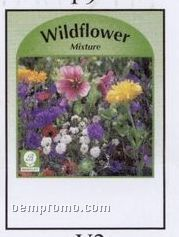 Wildflower Mixture Stock Designs Seed Packets - Imprinted