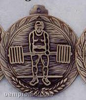 "1.5"" Stock Cast Medallion (Power Lifting 2)"