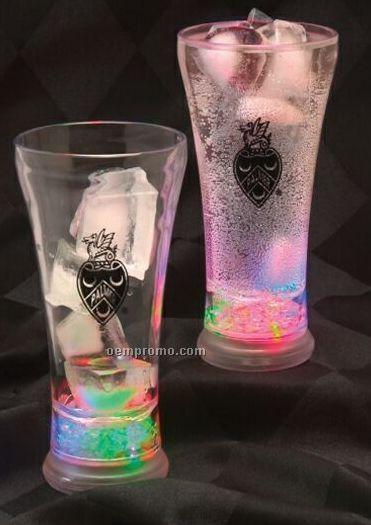 12 Oz. Pilsner Light-up Flashing Glass