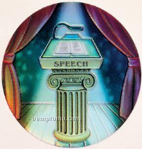 "Holographic Mylar - 2"" Speech"