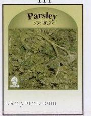 Parsley Stock Designs Seed Packet - Imprinted