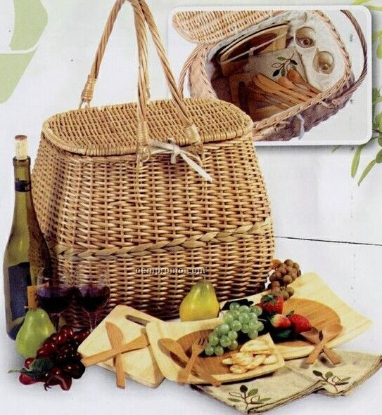 Cheap Picnic Basket For 4 : Aegean picnic cooler for four china wholesale