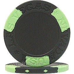 Csi-chips - Casino Style Inlay Poker Chips W/ 2 Color Rim Style
