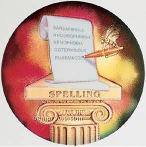 "Holographic Mylar - 2"" Spelling"