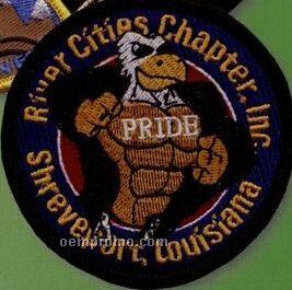 """75% Embroidered Emblem (4 1/2"""")"""