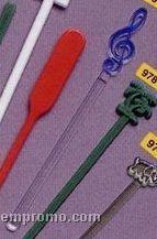 "Adgrabbers Treble Clef 6"" Swizzle Stick"