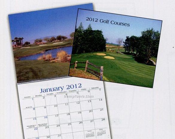 Golf Wall Calendar (After April)