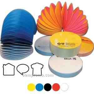 Slinky Brand Adhesive Notes -t-shirt Shaped