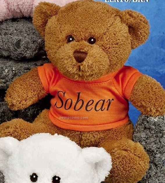 """10"""" Brown Bear Stuffed Animal"""