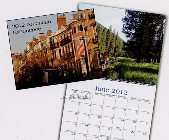 American Experience Wall Calendar (January - April)