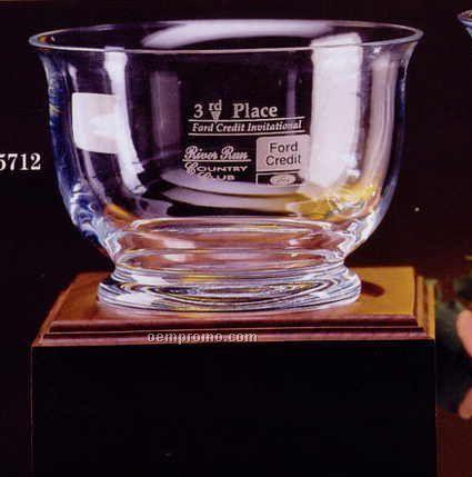 """Crystal Revere Trophy Bowl (5 1/2"""")"""