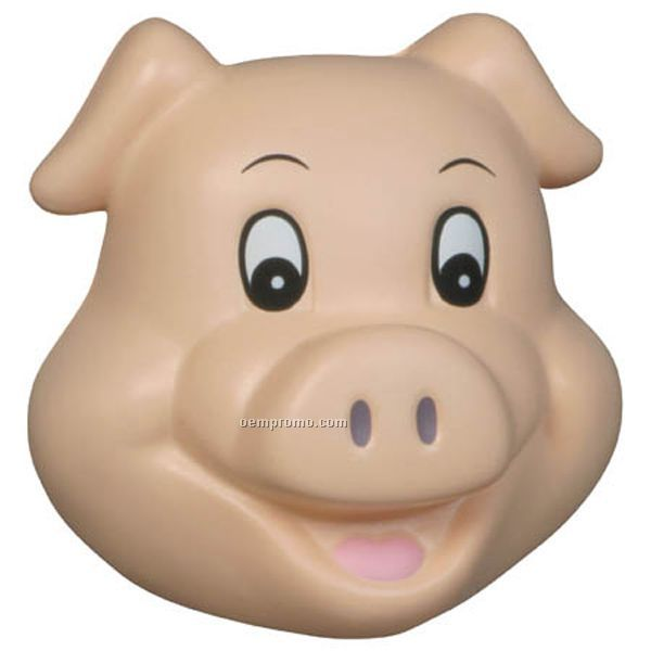 Pig Funny Face Squeeze Toy