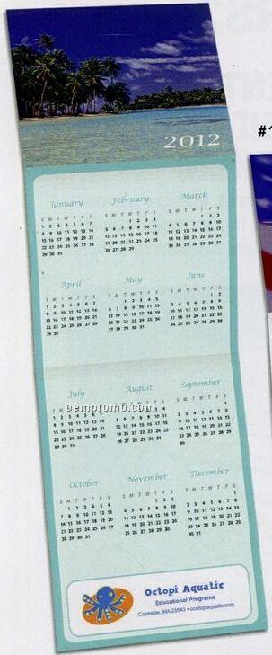 Beach Trifold Calendar (After 10/01/11)