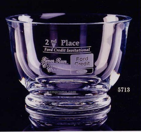 "Crystal Revere Trophy Bowl (7 1/2"")"
