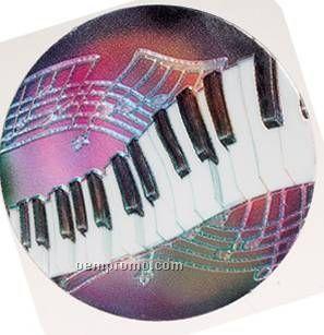 "Holographic Mylar - 2"" Piano"