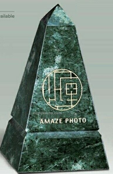 "Jade Marble Tower Award (3""X5""X3"")"