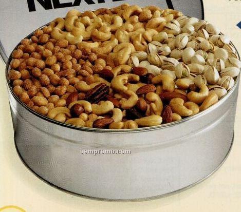 Large 4-way Nut Tin