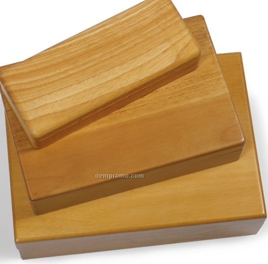Natural Wood Waiter's Corckscrew Box- No Imprint