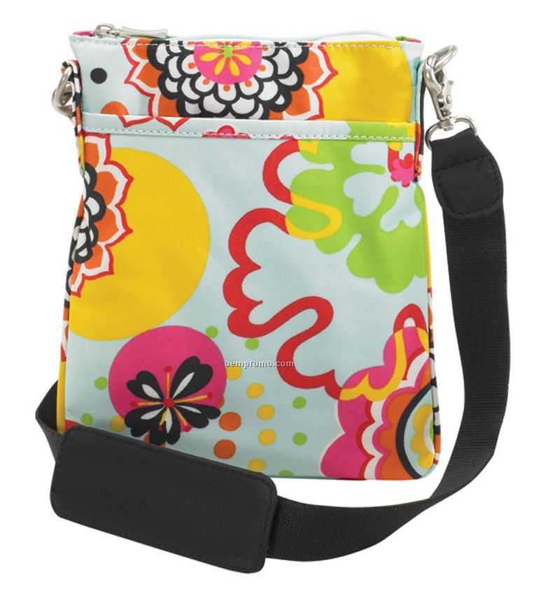 Urban Pouch - Flower Power Pattern