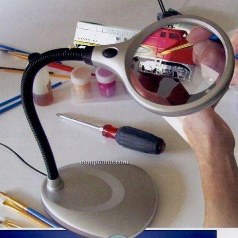 Deskbrite 200 Magnifier Desk Lamp