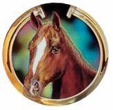 "Holographic Mylar - 2"" Horse Head"