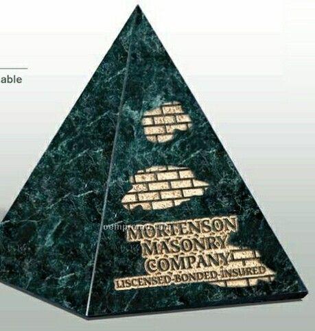 Jade Marble Pyramid Award