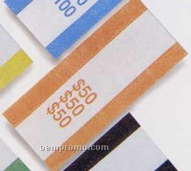"Pre Glued Aba Currency Bands 2-7/8""X1-1/4"" ($50.00 Volume)"