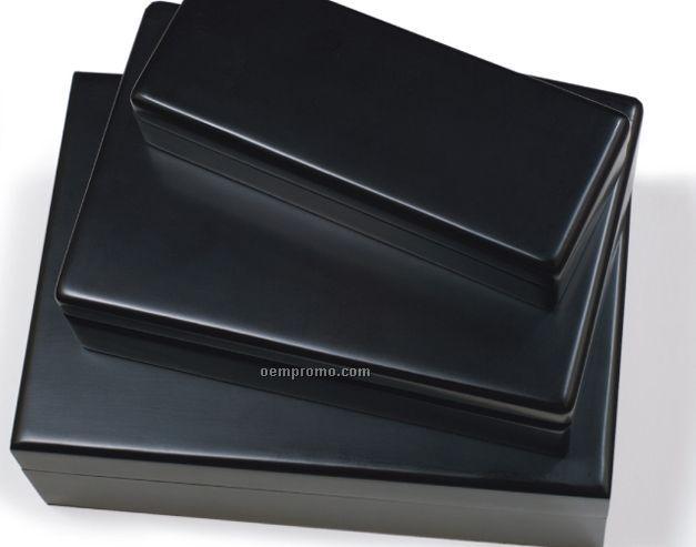 Black Matte Waiter's Corkscrew Box- No Imprint
