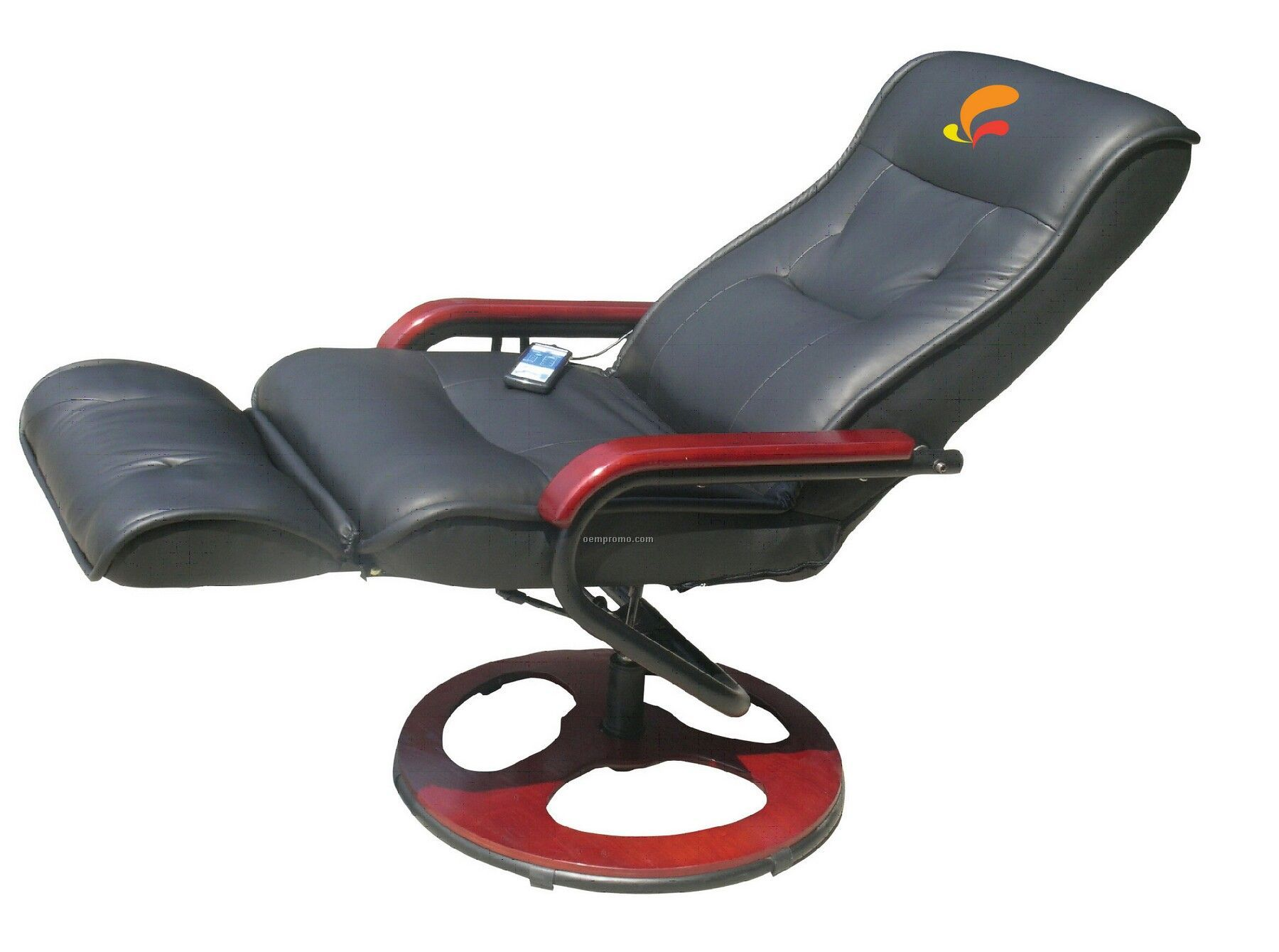 Massage Chair W/Circular Base