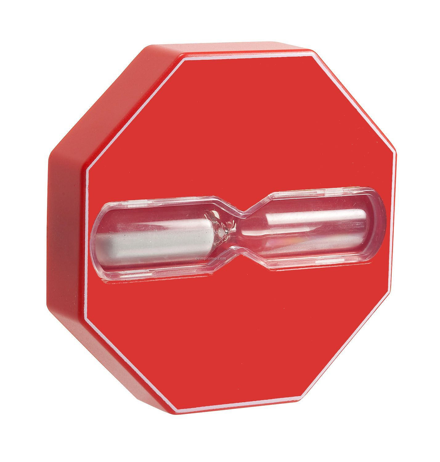 Red Blank Shower Timer