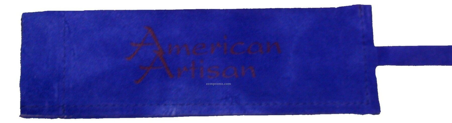 Suede Skillet/ Bbq Sleeve, Hot Branded, Washable (Blue)