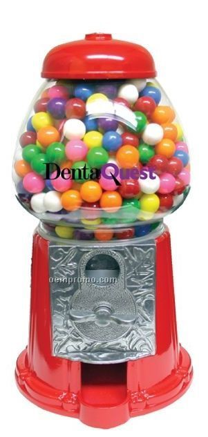 "11"" Old Fashion Gumball Machine W/ Gumballs (2 Day Service)"
