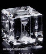 """Crystal 3d Gallery Square Cube Award (2""""X2""""X2"""")"""