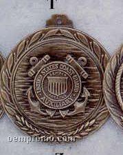 """2.5"""" Stock Cast Medallion (Coast Guard Auxiliary)"""