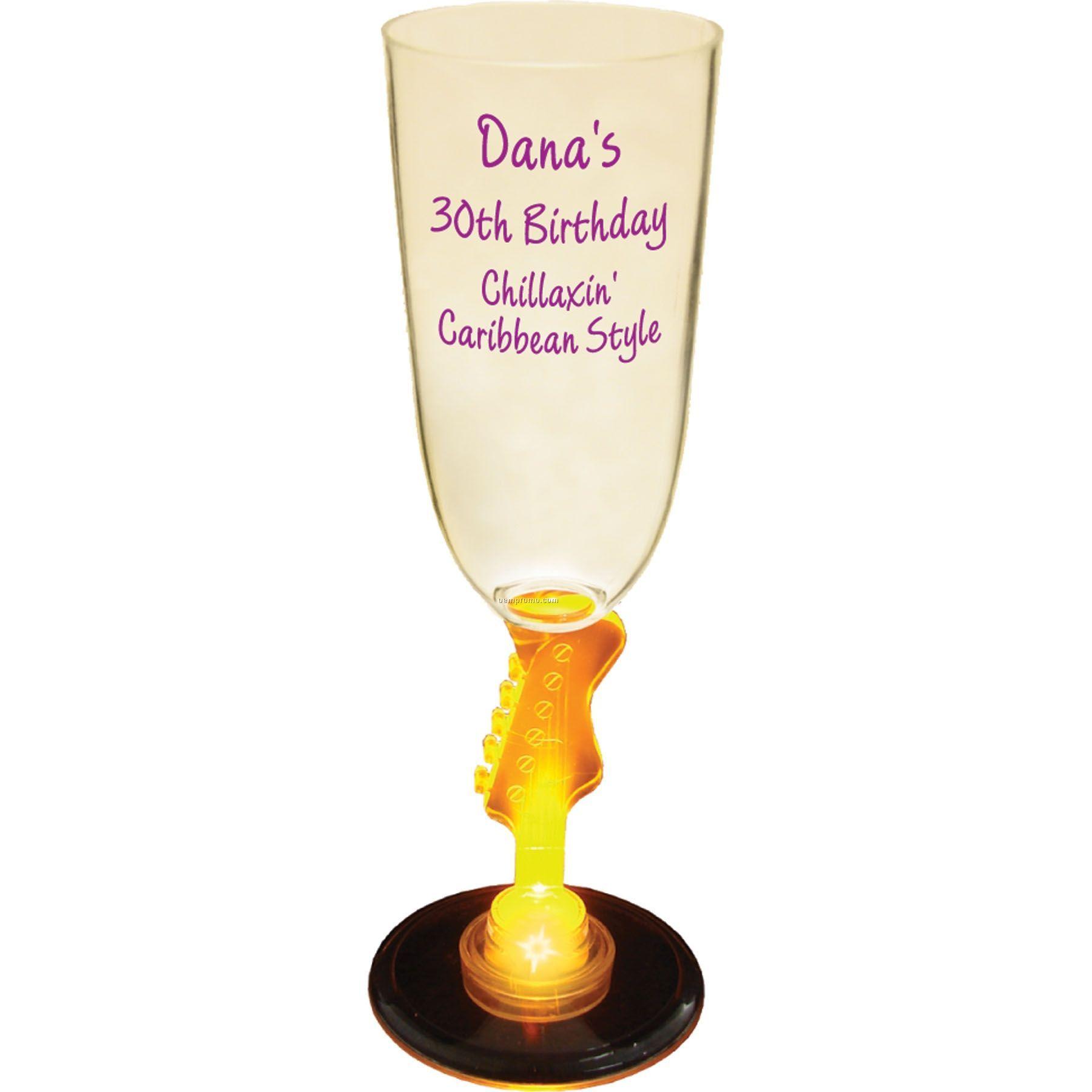 7 Oz. Lighted Novelty Stem Champagne