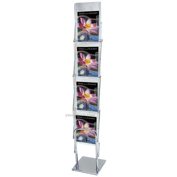 Exhibition Stand Carry Cases : Exhibitor series literature display w carry case