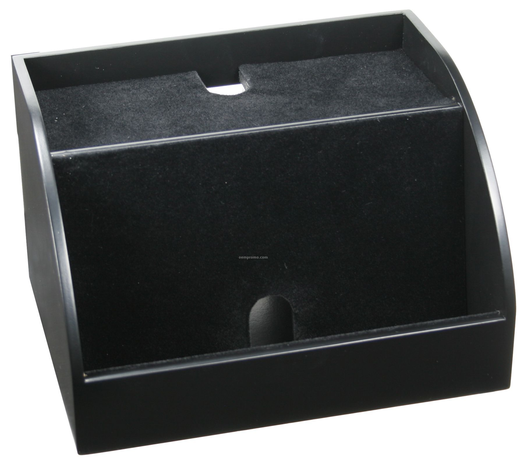 Charging Station Desk Organizer Black