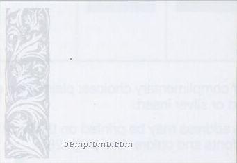 Gray Side Print Envelope