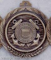 "2.5"" Stock Cast Medallion (Coast Guard)"