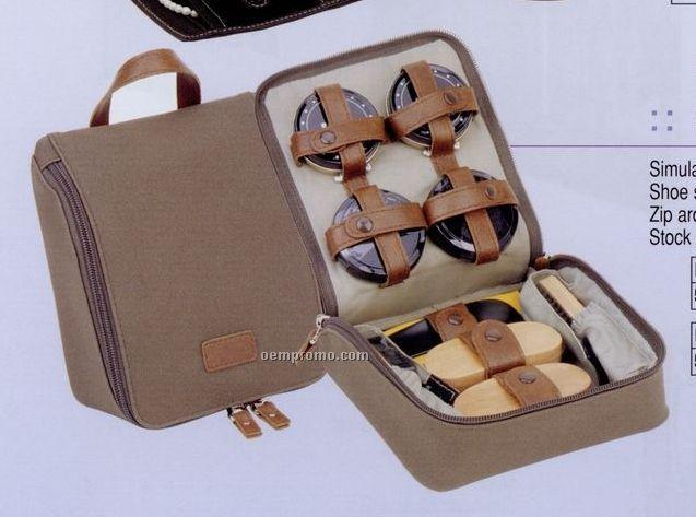 Elan Shoe Shine Kit